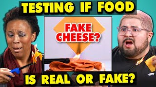 Video Adults React To Testing If My Food Is REAL Or FAKE MP3, 3GP, MP4, WEBM, AVI, FLV Juni 2019