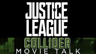 Collider Movie Talk - Justice League Official Logo, Synopsis and Set Visit Details Revealed by Collider