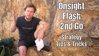 How to Send Fast: Onsight, Flash, 2nd Go Climbing by Mani the Monkey