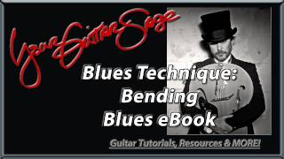 YGS - Blues Technique: Bending - Blues eBook - Beginning Electric Guitar Lesson