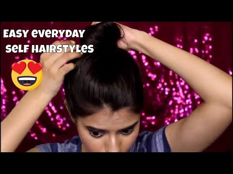 HOW TO: Easy Everyday Hairstyles For Short hair / Medium hair For Beginners 2018  Step by Step