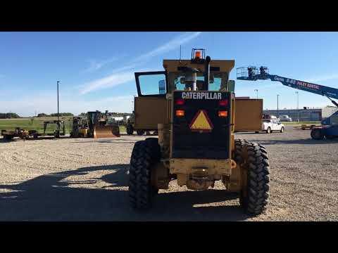 CATERPILLAR MOTOR GRADERS 140HNA equipment video 2tTuMwOv7zA