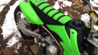 11. Honda CRF 50 Full Mod Walk Around and Rev