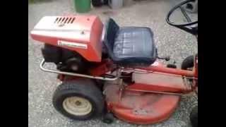 Allis Chalmers 405 mower built by Simplicity. Briggs 5hp.