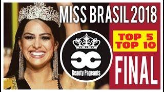 Video MISS BRASIL  2018 - Final Top  5 MP3, 3GP, MP4, WEBM, AVI, FLV Juni 2018