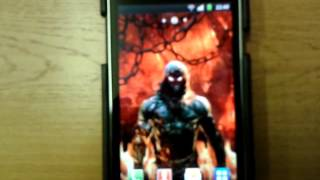 Disturbed fire Live Wallpaper YouTube video