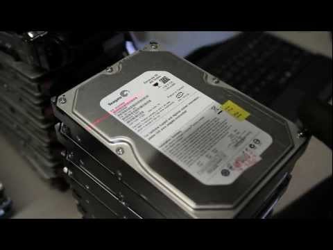 Hard Drive Shredding by Liquid Technology
