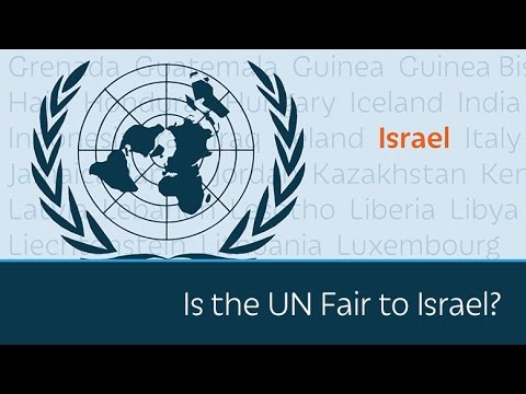 Is the UN Fair to Israel? (video)