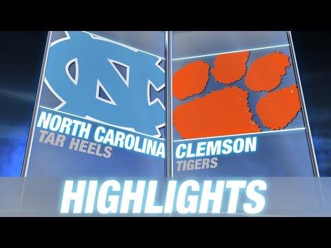 North Carolina vs Clemson %7C 2014 ACC Football Highlights