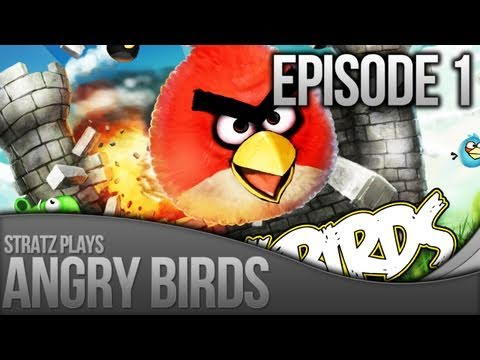 stratz - So this is the start to a NEW Series.. Angry Birds, with Stratz I Picked up this game after playing it SO Much on my iPhone, then seeing it on the App Store,...