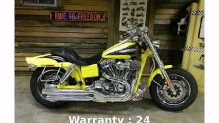 6. 2009 Harley-Davidson Dyna Glide Fat Bob Features
