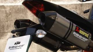 8. KTM 2008 990 SUPER DUKE-R &  AKRAPOVIC (HD)