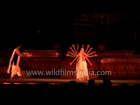 Yasmin Singh and Group perform Indian Classical Kathak dance: Khajuraho Dance Festival