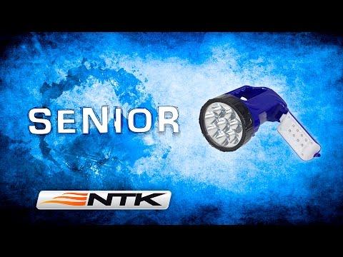 Vídeo - Lanterna e Lampião de Mão NTK Senior (Recarregável)