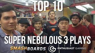 Best of Smash – Top 10 Plays of Super Nebulous 3 – SSBM
