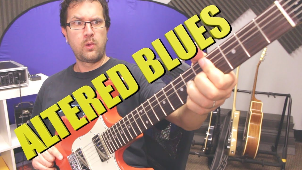 What Scales Can Blues Guitar Players Use To Add Tension?