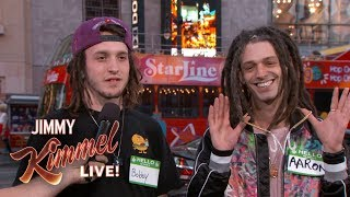 Video Jimmy Kimmel Guesses 'Who's High?' MP3, 3GP, MP4, WEBM, AVI, FLV November 2018
