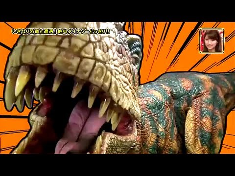 JAPANESE DINOSAUR PRANK   PART 1 of 3