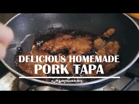 Delicious Homemade Pork Tapa | Sabrina's Kitchen
