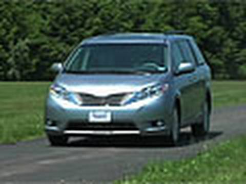 sienna - The Toyota Sienna has a roomy feature-laden interior and a compliant ride. The engine delivers lively performance and decent fuel economy. It's Consumer Repo...