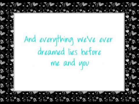 Shedaisy~ Before Me And You Lyrics