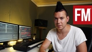 Albin Myers In The Studio With Future Music