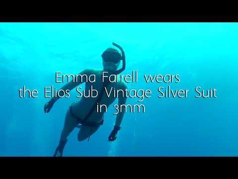 The Elios Sub Vintage Silver Wetsuit