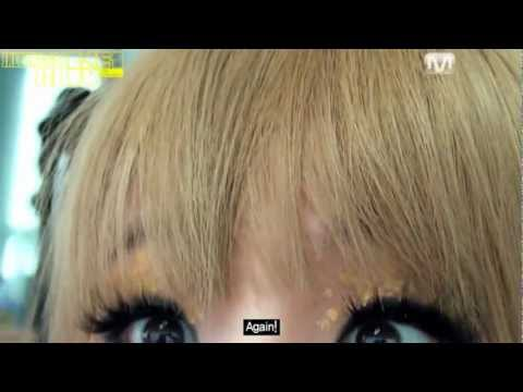 cltv - CL sneaking around 2NE1TV cameras, talks about her sister Harin, dance with Jeremy Scott, sing IATB Japanese ver and tease Dara about her incredibly vain roo...