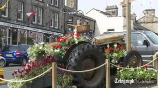 Hawes United Kingdom  City pictures : The Yorkshire town of Hawes prepares to welcome the Tour de France