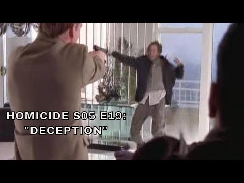 """Homicide: Life on the Street. S05 E19 = """"Deception"""" (Season 5: Episode 19) [review]"""