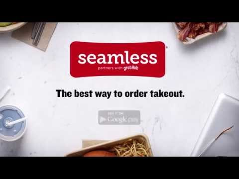 Video of Seamless Food Delivery/Takeout