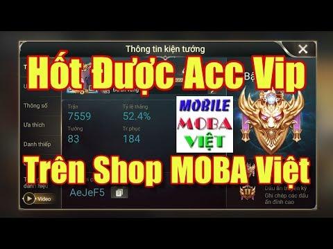 [Gcaothu] Quá sốc khi Gcaothu hốt được acc vip của Moba Việt - Lãi to rồi - Thời lượng: 10:19.
