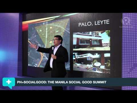 Dondi choir - Joel Garcia and Dondi Mapa of Microsoft on Big Data and TV Whitespace at the PH+Social Good: Manila #2030NOW.