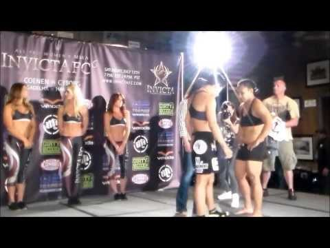 Invicta FC 6 weigh ins