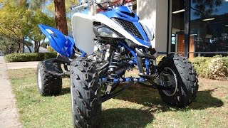 8. 2015 Yamaha Raptor 700R Team Yamaha Blue