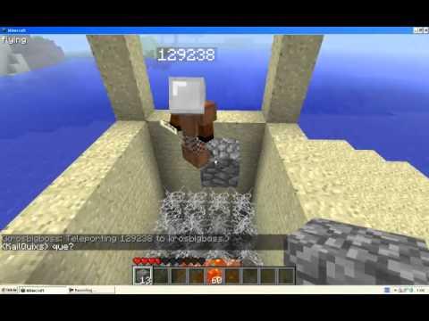 ¿Lograrán sobrevivir? Trampa divertida pero letal en Minecraft by krosbigboss