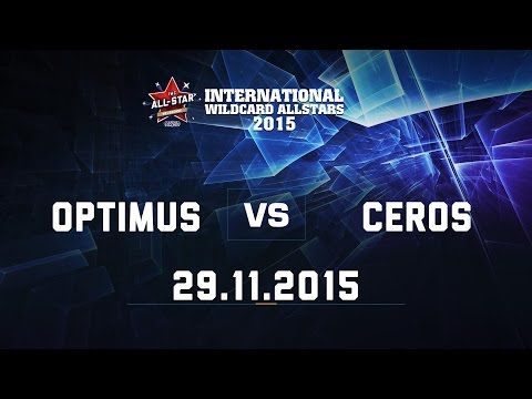 [29.11.2015] Optimus vs Ceros [IWCA 2015]