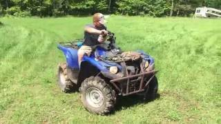 9. 2016 Honda Rubicon Vs 2008 Yamaha Grizzly 700   #2