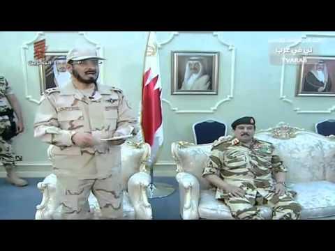 قائد قوات درع الجزيره يلقي كلمه بعد التطهير