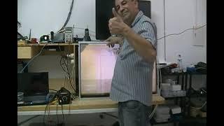 TV SONY LED KDL 40EX725 COM LISTAS HORIZONTAIS NA TELA