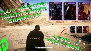 Star Wars Battlefront 2: Fully Upgraded Darth Vader Gameplay/Streak!!!