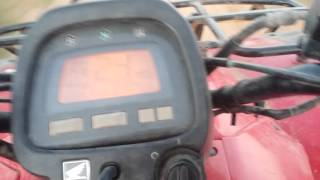 10. 2006 Honda rancher 350 top speed