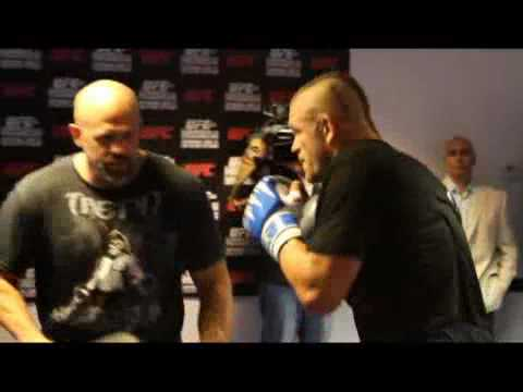 Chuck Liddell UFC 115 Media Workout