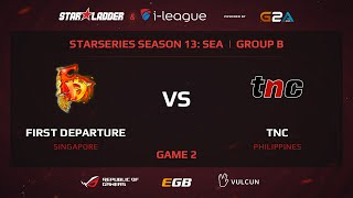 TnC vs FD, game 2