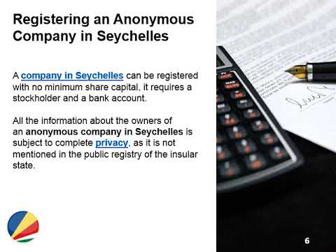 Open an Anonymous Company in Seychelles