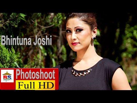 GLAMOROUS PHOTOSHOOT OF ACTRESS BHINTUNA JOSHI  - NEPALI FASHION 2015
