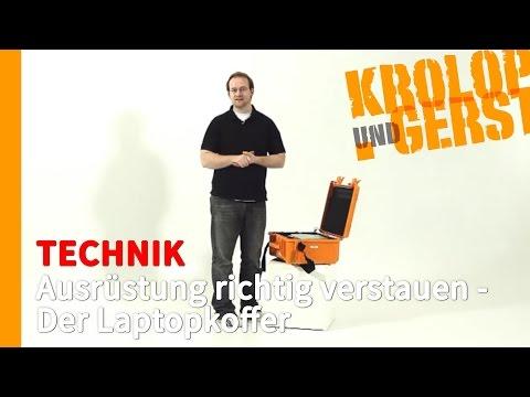 Ausrüstung richtig verstauen - Der Laptopkoffer 📷 TECHNIK 📷 Krolop&Gerst
