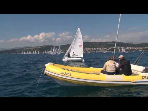 Split Olympic sailing week 2014, Day 2