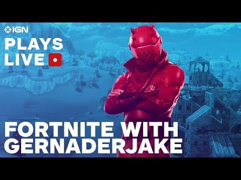 Fortnite Battle Royale With GernaderJake - IGN Plays Live