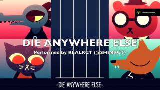 My instrumental cover version of the song 'Die Anywhere Else' from the game 'Night In The Woods'. A vocal version (featuring a special guest) to be uploaded soon!All instruments played & sequenced by myself (@shinKCT)Original composition is (c) Alec Holowka (@infinite_ammo)Night In The Woods is (c) Scott Benson (@bombsfall)Ending artwork is (c) Angus Mcleod (@paulmcicedtea)If using this to perform your own vocal cover, please give credit in your composition/video to the above! Thank-you! :)